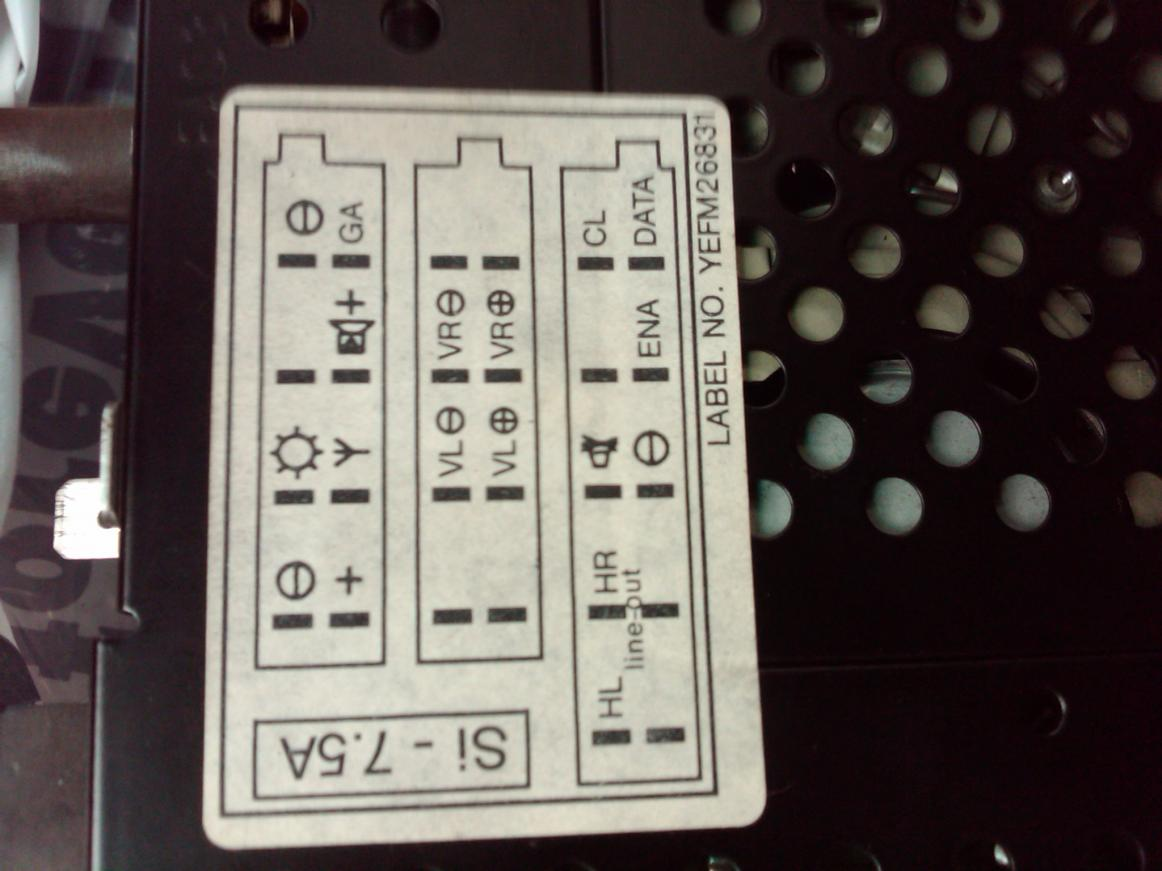 Original Audi 80 B4 gamma Radio Schaltplan